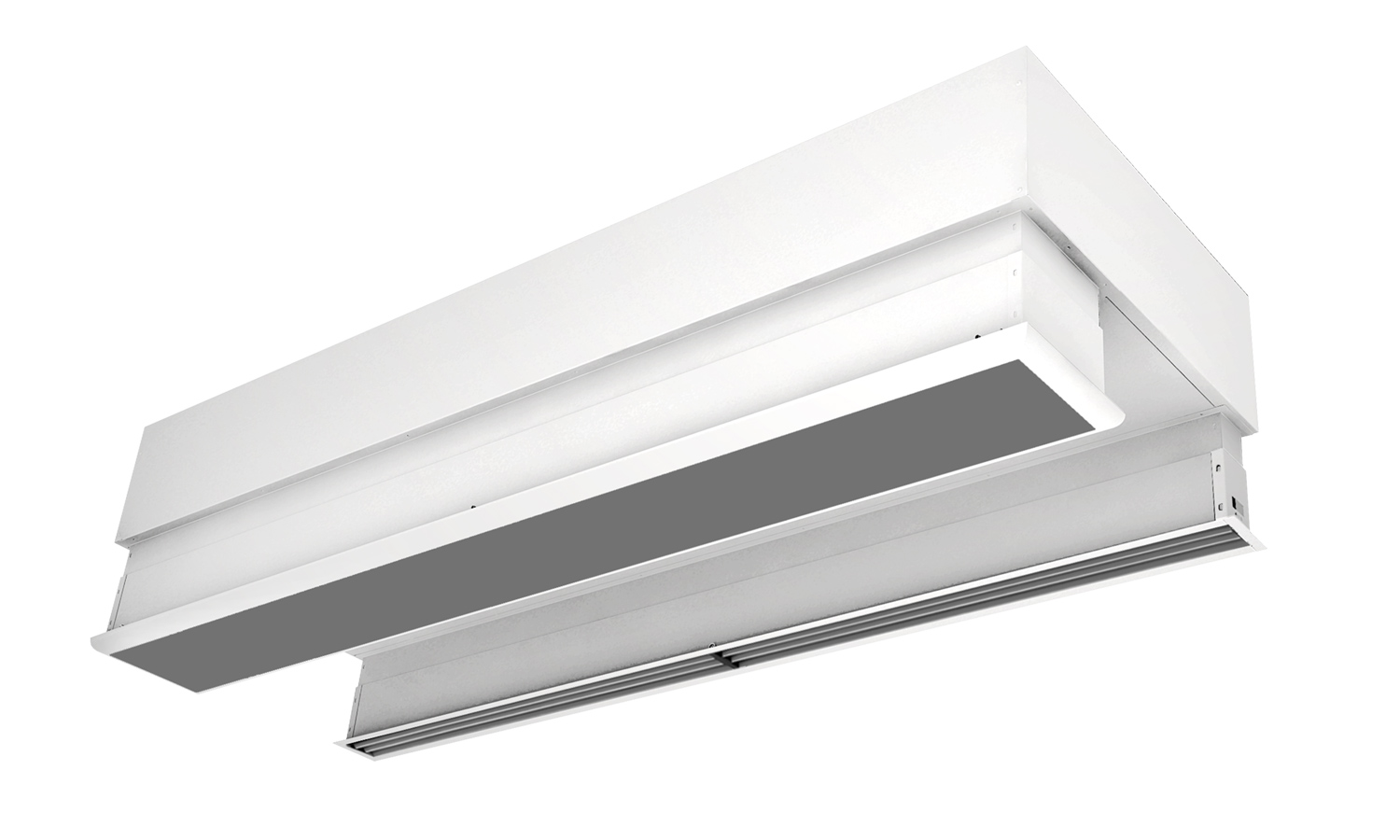 False ceiling invisible mounting