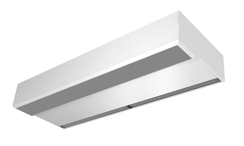 Установка во внутреннюю поверхность потолка