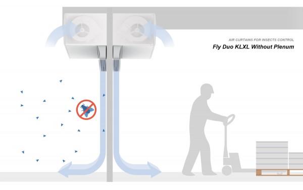 Vzduchová clona Fly KXL