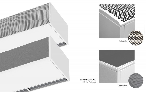 Barriera d'aria Windbox L,XL