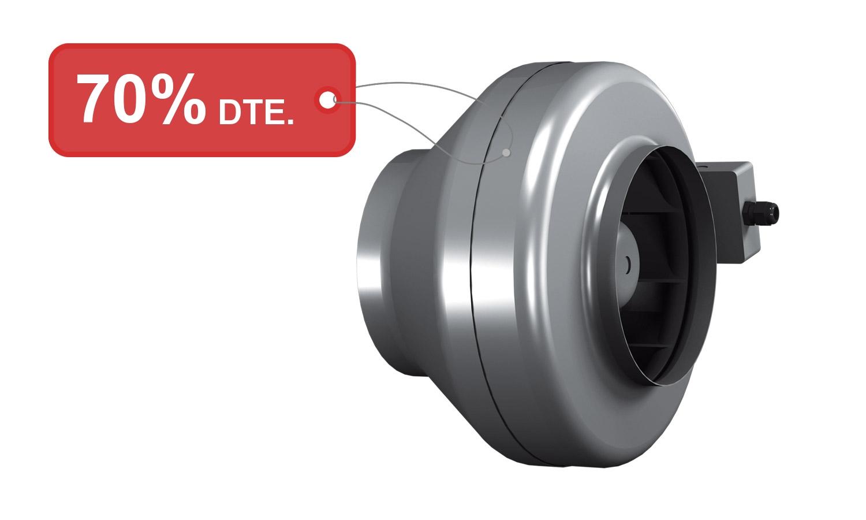 Ventilador en línia tipus R 150