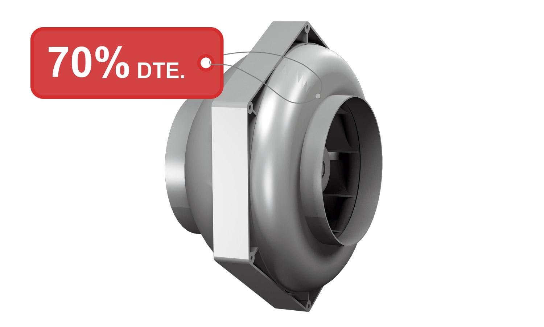 Ventilador en línia RS 125 120V 60Hz