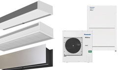 Air Curtains Heat Pump Panasonic