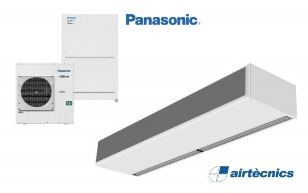 Cortina de ar Windbox DX, para bomba de calor PANASONIC