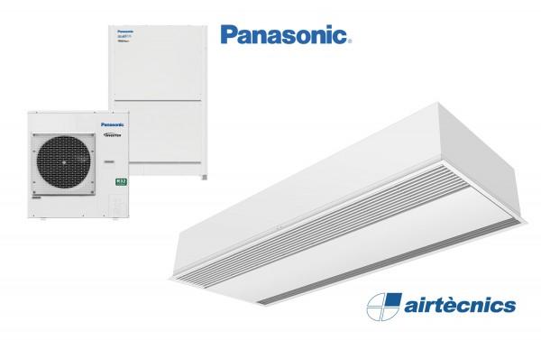 Barriera d'aria Mod Windbox DX in pompa di calore PANASONIC