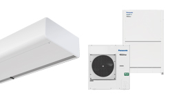 Heat pump air curtain Smart DX for PANASONIC