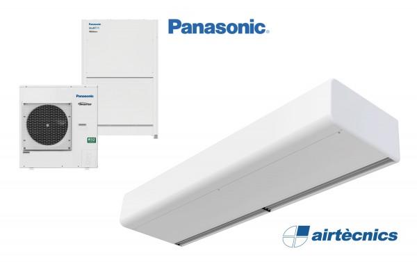 Smart DX Türluftschleier für Wärmepumpe PANASONIC