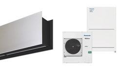 Heat pump air curtain Zen DX for PANASONIC