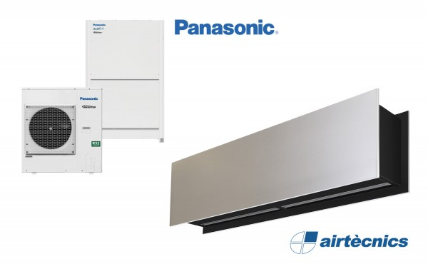 Barriera d'aria Zen DX in pompa di calore PANASONIC