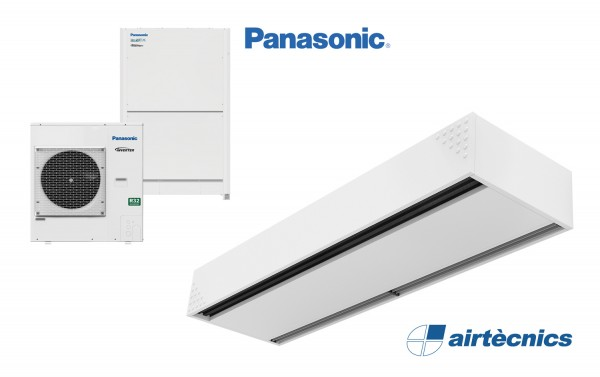 Barriera d'aria Dam DX in pompa di calore PANASONIC
