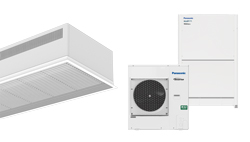 Heat pump air curtain Recessed Dam DX for PANASONIC