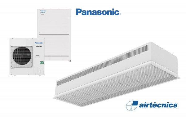 For Dam DX lufttæppe til varmepumpe PANASONIC