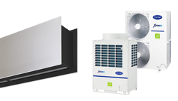 Heat pump air curtain Zen VRF for CARRIER
