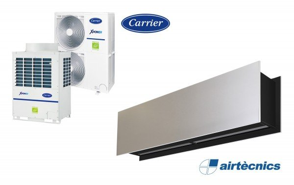 Barriera d'aria Zen VRF in pompa di calore CARRIER