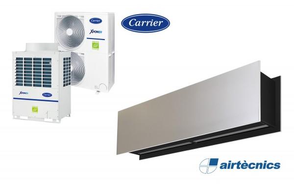 Zen VRF Türluftschleier für Wärmepumpe CARRIER
