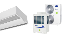 For Windbox VRF lufttæppe til varmepumpe CARRIER