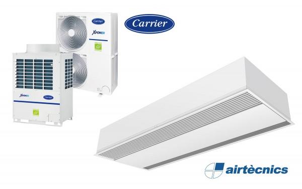 Isı pompası için Gir Windbox VRF hava perdesi CARRIER