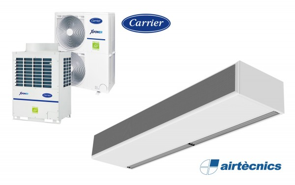 Cortina d'aire Windbox VRF per bomba calor CARRIER