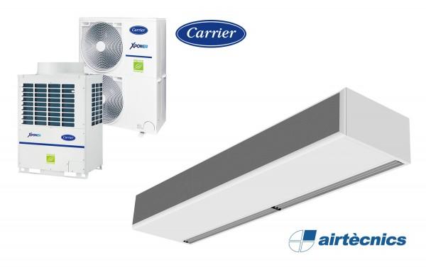 Windbox VRF lufttæppe til varmepumpe CARRIER