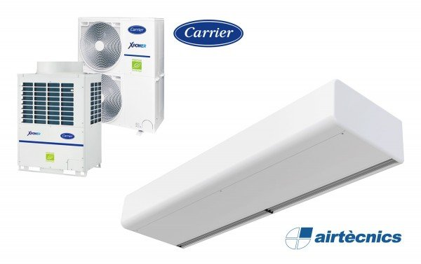 Heat pump air curtain Rund VRF for CARRIER