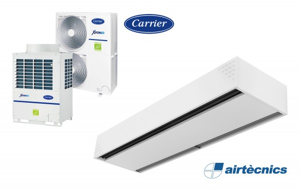 Heat pump air curtain Dam VRF for CARRIER