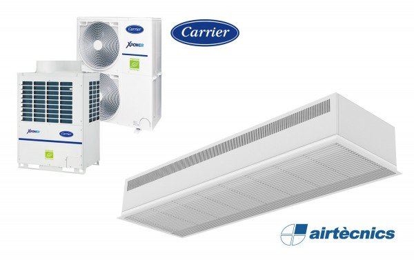 Barriera d'aria Mod Dam VRF in pompa di calore CARRIER