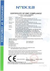 Certificado CE - EMC Adaptador de corriente