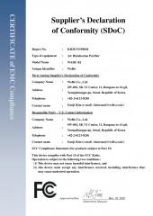Certificado FCC EMC