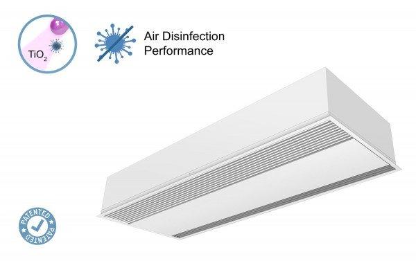 Įleidžiama Windbox oro užuolaida su Kleenfan technologija