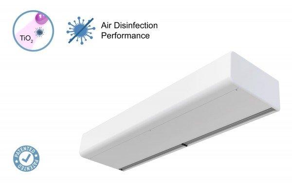 Kurtyna powietrzna Smart z technologią Kleenfan