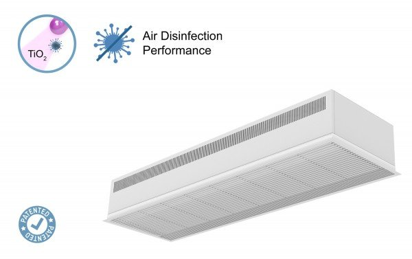 Air curtain Recessed Dam a with Kleenfan Technology