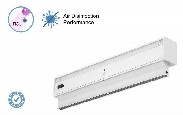 Air Curtain Invisair with Kleenfan Technology