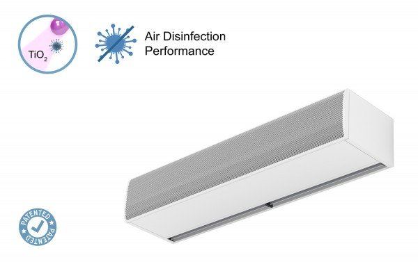 Air curtain Kool with Kleenfan Technology