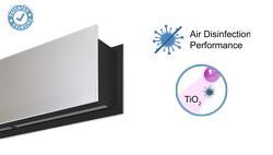 Vzduchová clona Zen s technologií Kleenfan