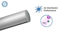 Vzduchová clona Rund s technologií Kleenfan