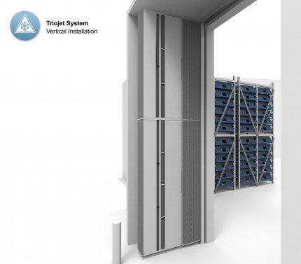 Barriera d'aria Triojet System