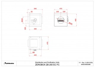 Dimensions Zerobox ZB 250 EC FC