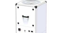 Unidad vertical de purificación de aire de alta eficiencia Kleenbox con filtración absoluta HEPA