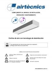 Manual - Cortinas de aire desinfección