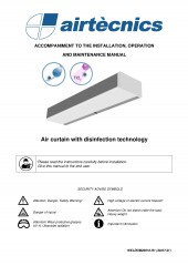 Installation Manual Disinfection air curtains