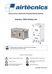 Installation Manual Kleenbox