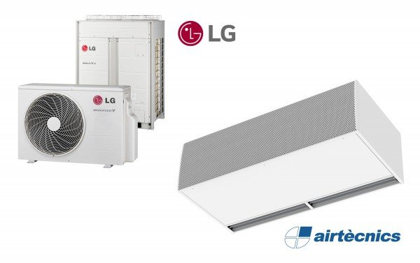 Cortina d'aire Windbox LXL DX per bomba de calor LG