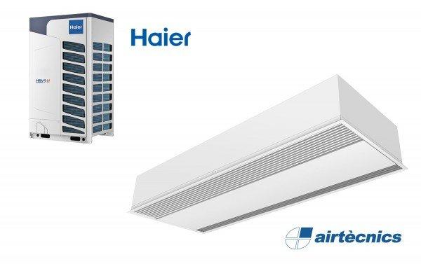 Įleidžiama oro užuolaida Windbox DX skirta Haier šilumos siurbliui