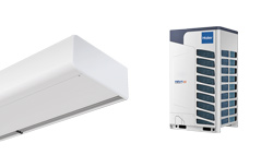 Heat pump Air Curtain Smart DX for Haier