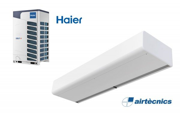 Cortina d'aire Smart DX per bomba de calor Haier