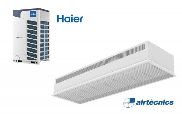 Barriera d'aria Recessed Dam DX per Haier