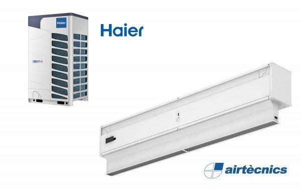 Воздушная Завеса Invisair DX с Тепловым Насосом Haier