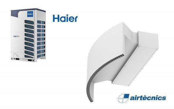 Cortina de ar com bomba de calor Rotowind DX para Haier