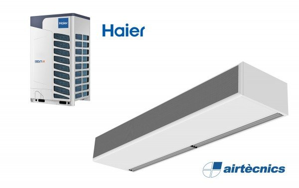 Cortina d'aire Windbox BB DX per bomba de calor Haier