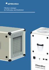 Unidades de Filtración, Purificación y Desinfección del Aire
